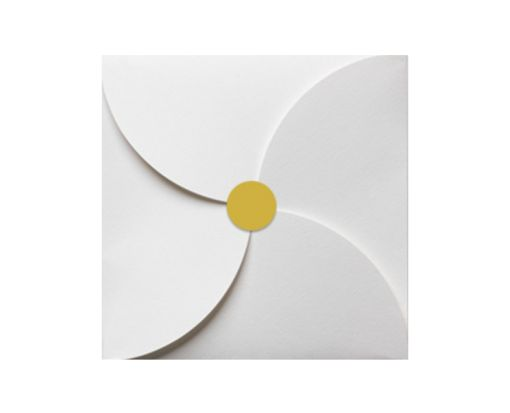 1.625 Circle Labels, 24 Per Sheet Gold Foil