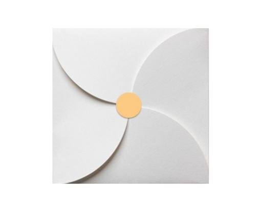 1.625 Circle Labels, 24 Per Sheet Pastel Orange