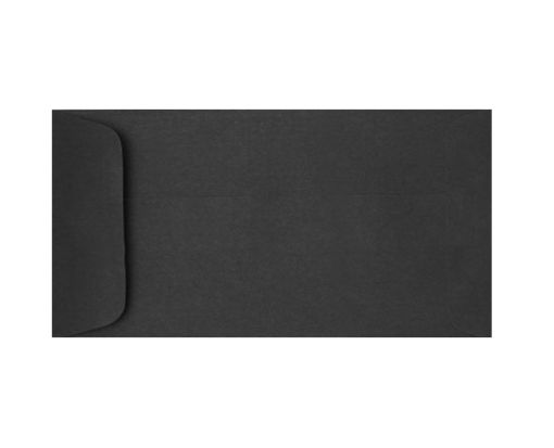 6 x 11 1/2 Open End Envelopes Midnight Black