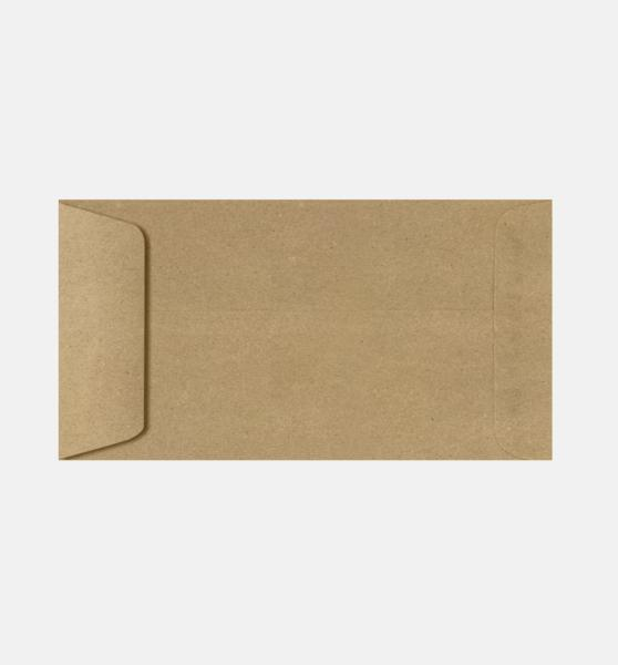 open envelope with paper grocery bag brown 6 x 11 12 envelopes open end 6 x 11 12