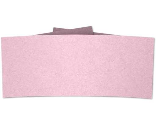 6 1/4 Belly Band Rose Quartz Metallic