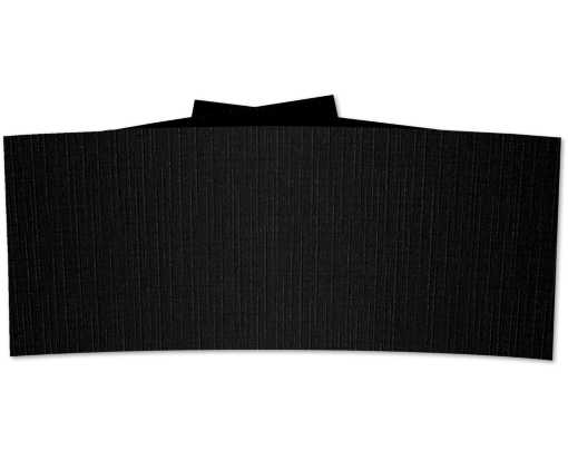 6 1/4 Belly Band Black Linen