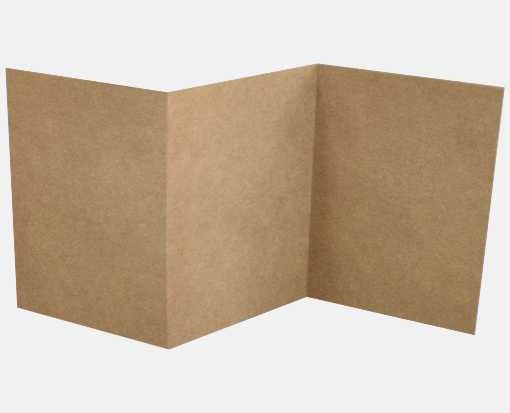 6 1/4 x 6 1/4 Z-Fold Invitation 18pt. Grocery Bag