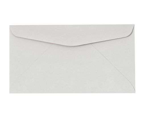 #6 3/4 Regular Envelopes (3 5/8 x 6 1/2) Pastel Gray