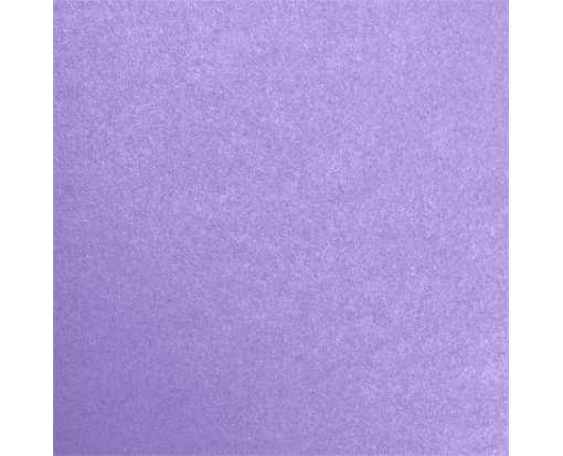 6 3/4 x 6 3/4 Flat Card Amethyst Metallic