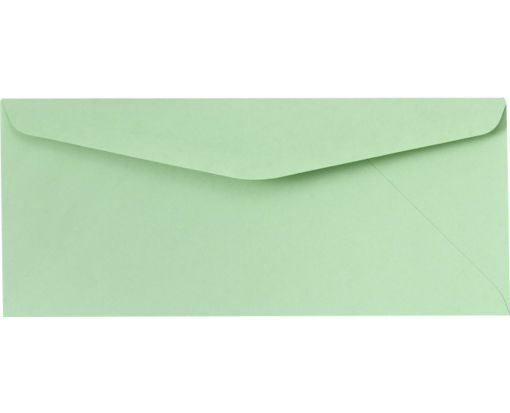 #10 Regular Envelopes (4 1/8 x 9 1/2) Pastel Green