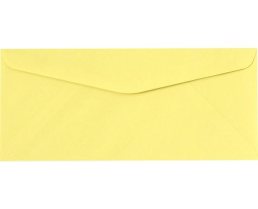 #10 Regular Envelopes (4 1/8 x 9 1/2) Pastel Canary