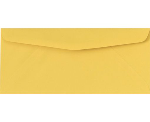 #10 Regular Envelopes (4 1/8 x 9 1/2) Goldenrod