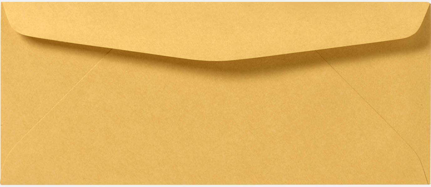 24lb brown kraft 12 envelopes regular 4 3 4 x 11