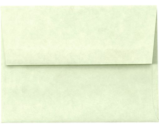 A2 Invitation Envelopes (4 3/8 x 5 3/4) Green Parchment