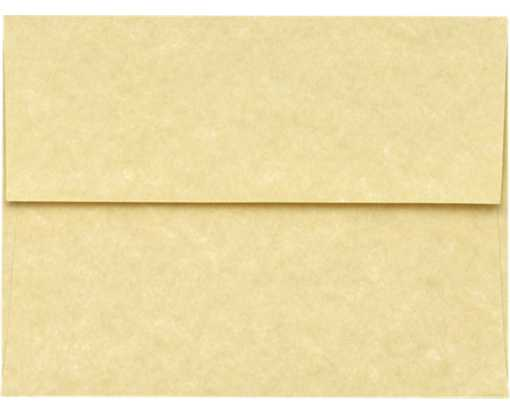 A6 Invitation Envelopes (4 3/4 x 6 1/2) Gold Parchment