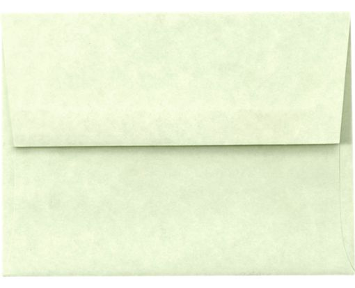A6 Invitation Envelopes (4 3/4 x 6 1/2) Green Parchment