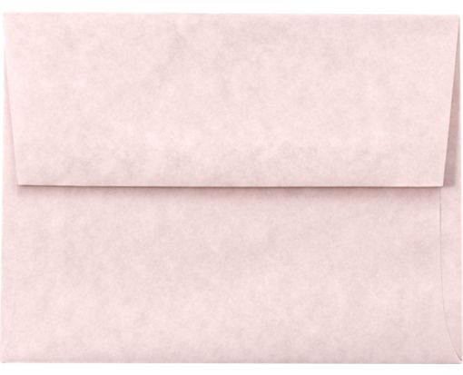 A6 Invitation Envelopes (4 3/4 x 6 1/2) Pink Parchment