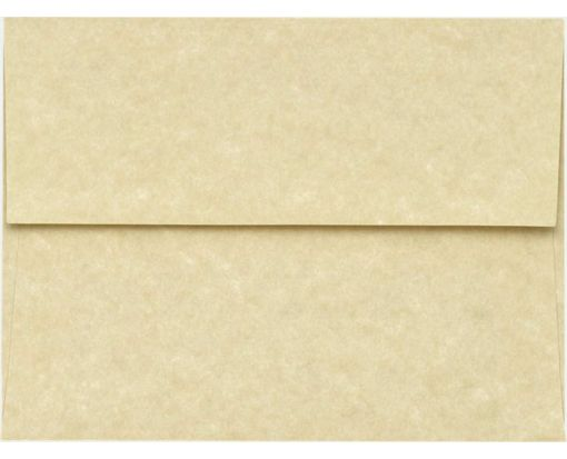 A6 Invitation Envelopes (4 3/4 x 6 1/2) 60lb. Antique Parchment