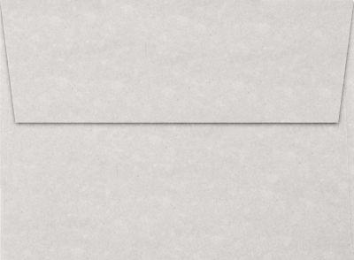 Gray Parchment A7 Envelopes Square Flap 5 14 x 7 14