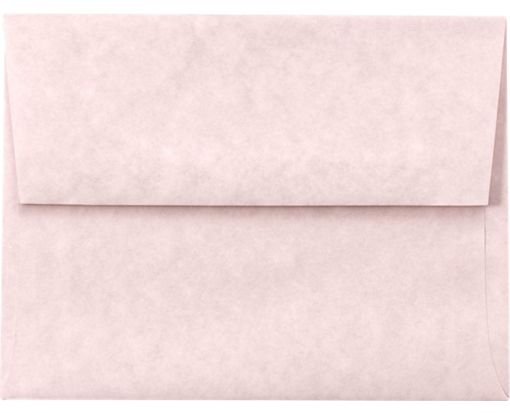 A7 Invitation Envelopes (5 1/4 x 7 1/4) Pink Parchment