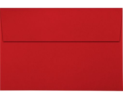 A8 Invitation Envelopes (5 1/2 x 8 1/8) Holiday Red