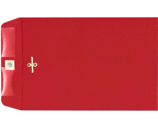 9 x 12 Clasp Envelopes Ruby Red