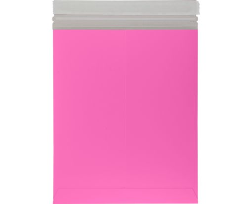 6 x 9 Colored Paperboard Mailers Bright Fuchsia
