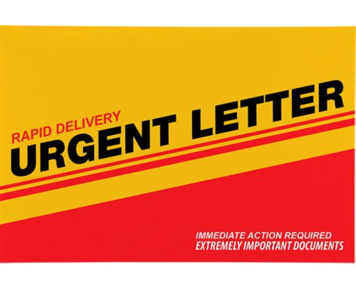 Express Mailers - 6 x 9 Urgent Letter Express