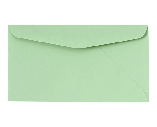 #6 3/4 Regular Envelopes (3 5/8 x 6 1/2) Pastel Green