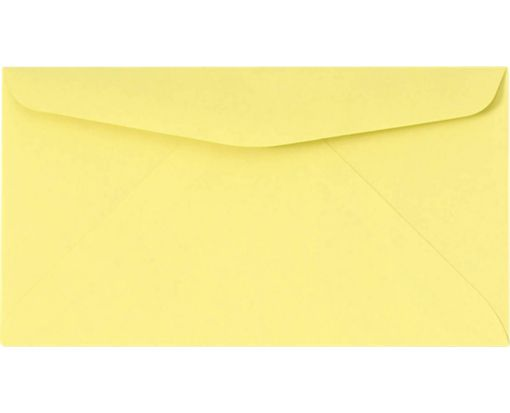 #6 3/4 Regular Envelopes (3 5/8 x 6 1/2) Pastel Canary