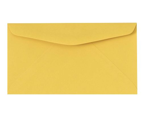 #6 3/4 Regular Envelopes (3 5/8 x 6 1/2) Goldenrod