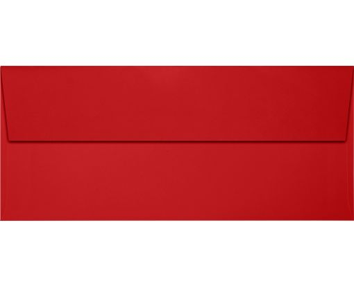 Slimline Invitation Envelopes (3 7/8 x 8 7/8) Ruby Red