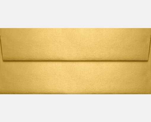 Slimline Invitation Envelopes (3 7/8 x 8 7/8) Gold Metallic
