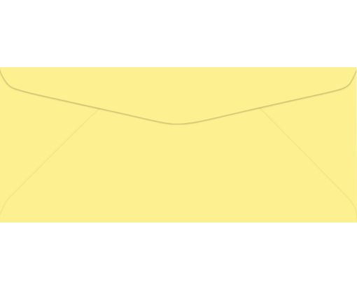 #9 Regular Envelopes (3 7/8 x 8 7/8) Pastel Canary