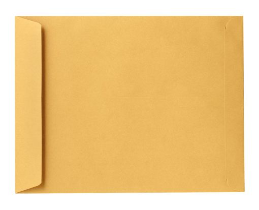 8 3/4 x 11 1/4 Open End Envelopes 24lb. Brown Kraft