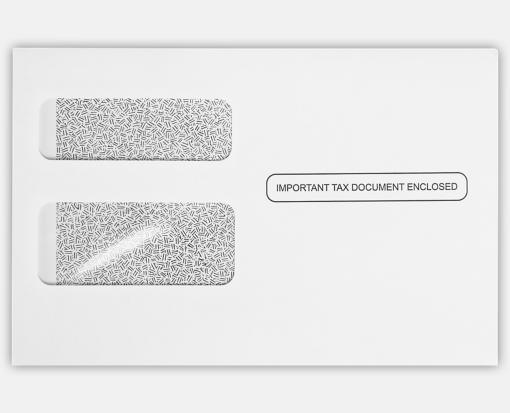 W 2 1099 Envelopes 5 34 X 8 78 For 1099r And 1099 Misc Forms