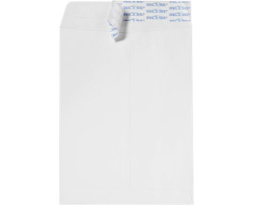 7 1/2 x 10 1/2 Open End Envelopes White w/ Peel & Seel®
