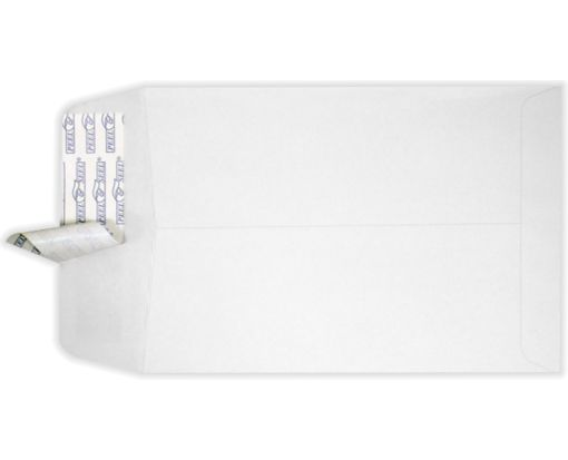 6 1/2 x 9 1/2 Open End Envelopes White w/ Peel & Seel®