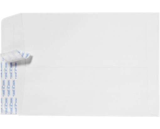 10 x 13 Open End Envelopes 28lb. White w/ Peel & Seel®