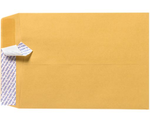 10 x 13 Open End Envelopes Brown Kraft w/ Peel & Seel®
