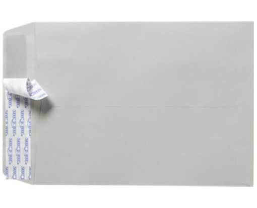 10 x 13 Open End Envelopes Gray Kraft w/ Peel & Seel®