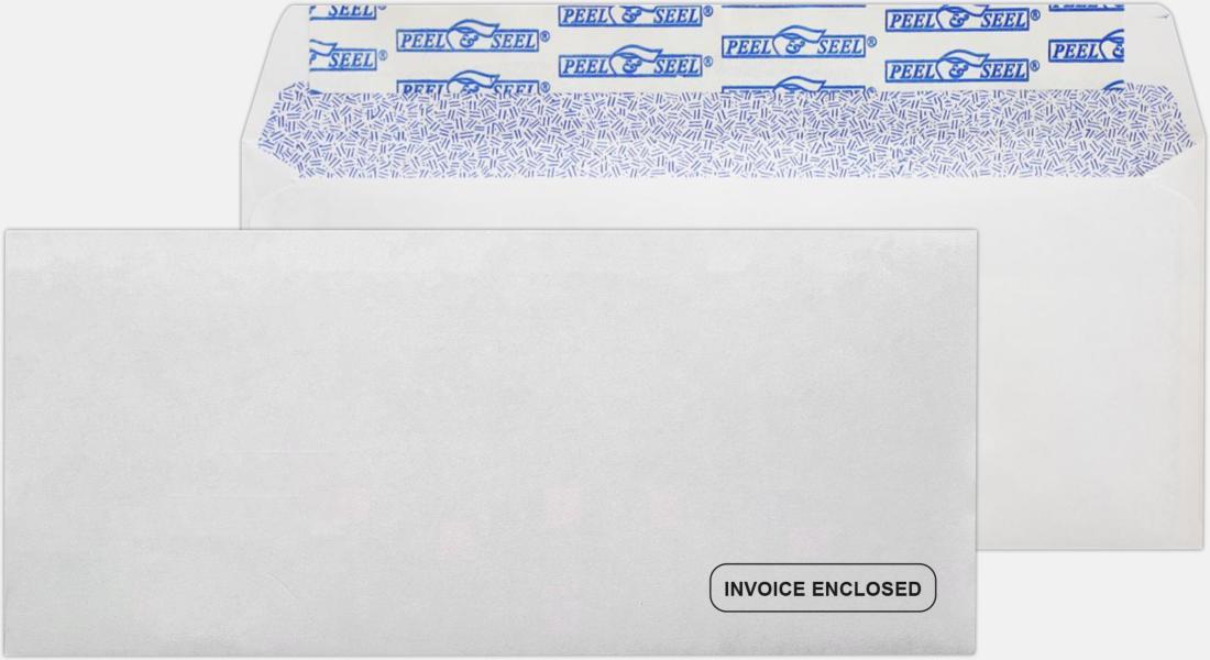Lb Bright White Invoice Envelopes Regular X - 9 invoice envelopes
