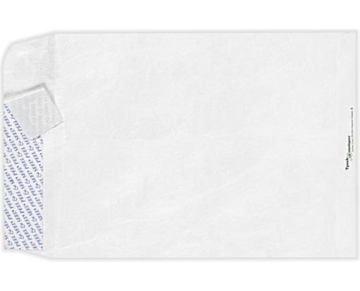 10 x 13 Open End Envelopes 14lb. Tyvek