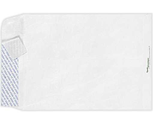 11 1/2 x 14 1/2 Open End Envelopes 14lb. Tyvek