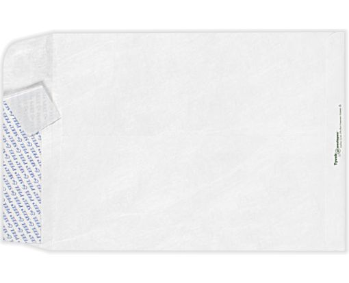 12 x 15 1/2 Open End Envelopes 14lb. Tyvek