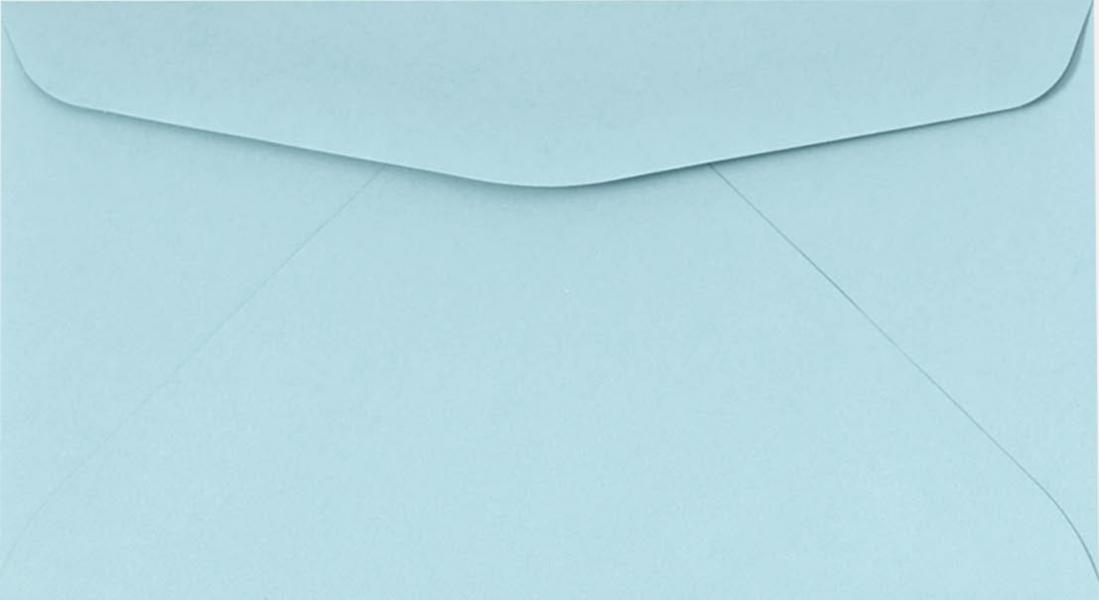 Pastel Blue #6 3/4 Envelopes | Regular | (3 5/8 x 6 1/2) | Envelopes.com