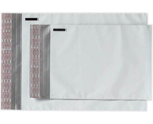 6 x 9 Poly Mailers White Poly