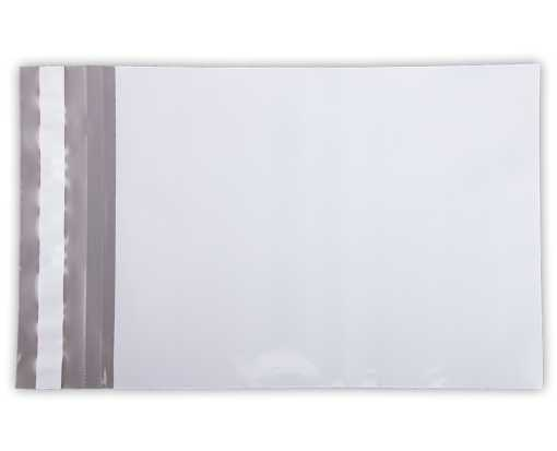 10 x 13 Poly Mailers White Poly