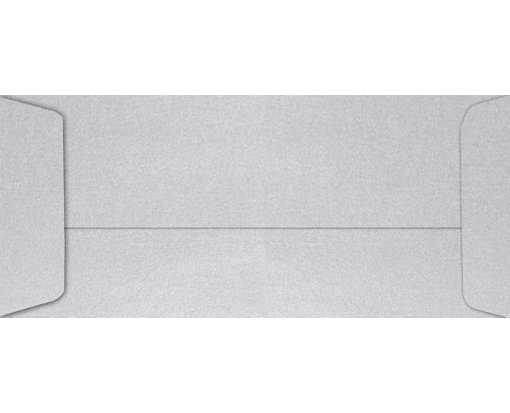 #10 Open End Envelopes (4 1/8 x 9 1/2) Silver Metallic