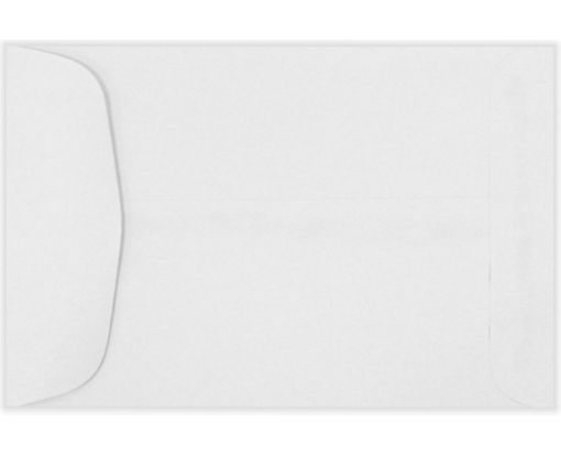 4 5/8 x 6 3/4 Open End Envelopes 24lb. Bright White