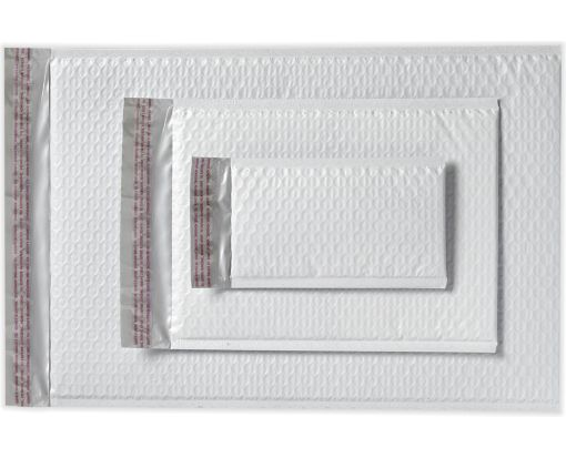 8 1/2 x 13 3/4 AirJacket Mailers White Bubble