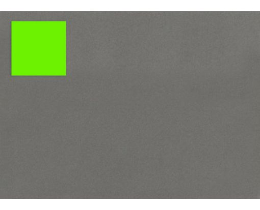 1.5 x 1.5 Square Labels, 35 Per Sheet Fluorescent Green