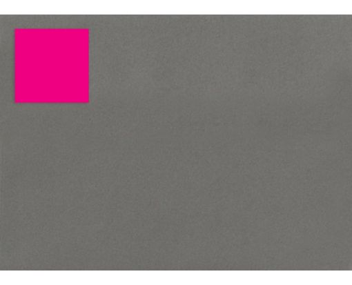 1.5 x 1.5 Square Labels, 35 Per Sheet Fluorescent Pink