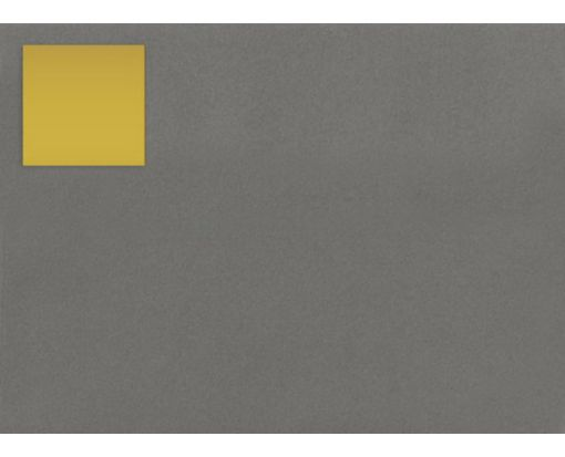 1.5 x 1.5 Square Labels, 35 Per Sheet Gold Foil